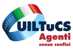 Logo UILTucs Agenti senza confini