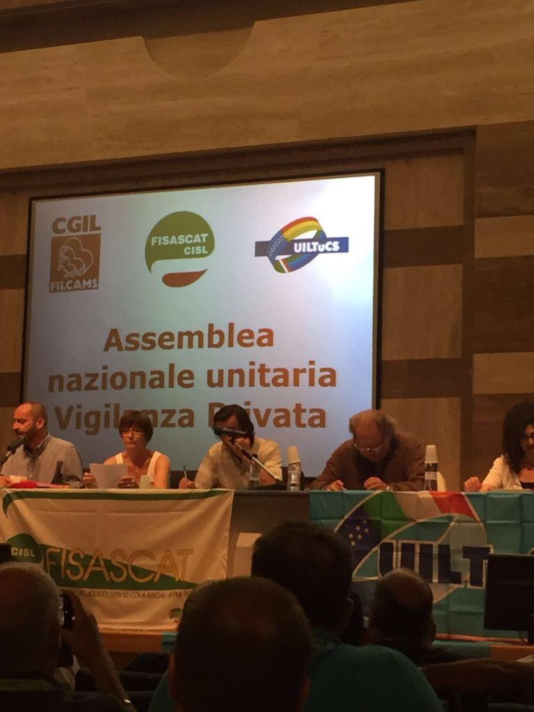 Assemblea nazionale unitaria della Vigilanza Privata